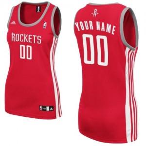 Houston Rockets Swingman Personnalisé Road Maillot d'équipe de NBA - Rouge pour Femme