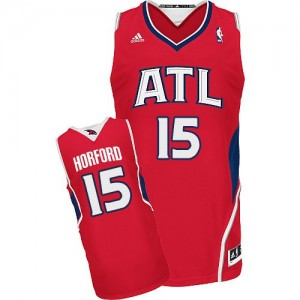 Maillot Swingman Atlanta Hawks NBA Alternate Rouge - #15 Al Horford - Homme