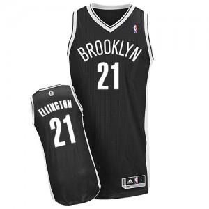 Brooklyn Nets #21 Adidas Road Noir Authentic Maillot d'équipe de NBA magasin d'usine - Wayne Ellington pour Homme