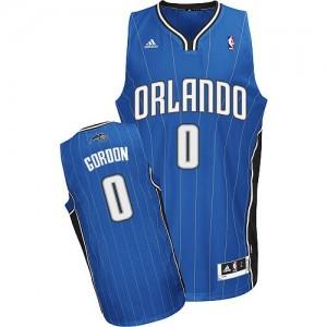 Maillot NBA Bleu royal Aaron Gordon #0 Orlando Magic Road Swingman Homme Adidas