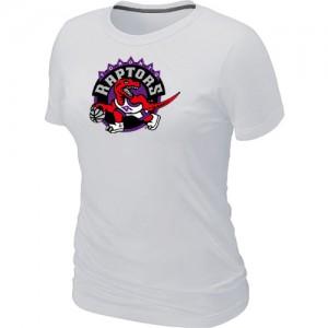 Toronto Raptors Big & Tall Blanc T-Shirts d'équipe de NBA Le meilleur cadeau - pour Femme