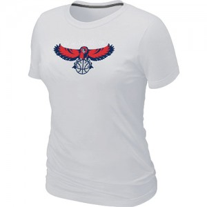 T-Shirts NBA Atlanta Hawks Big & Tall Blanc - Femme
