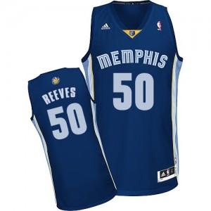 Memphis Grizzlies #50 Adidas Road Bleu marin Swingman Maillot d'équipe de NBA en ligne pas chers - Bryant Reeves pour Homme