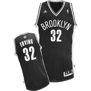 Maillot NBA Swingman Julius Erving #32 Brooklyn Nets Road Noir - Homme