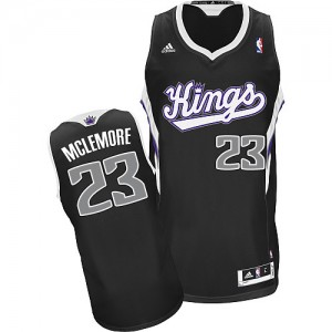 Maillot NBA Noir Ben McLemore #23 Sacramento Kings Alternate Swingman Homme Adidas