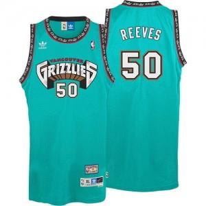 Memphis Grizzlies #50 Adidas Hardwood Classics Throwback Vert Authentic Maillot d'équipe de NBA en ligne - Bryant Reeves pour Homme