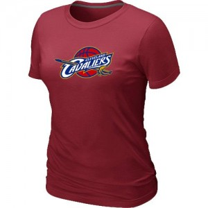 T-Shirts NBA Cleveland Cavaliers Rouge Big & Tall - Femme