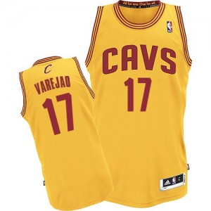 Maillot NBA Authentic Anderson Varejao #17 Cleveland Cavaliers Alternate Or - Homme