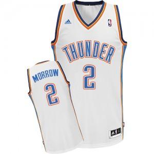 Maillot NBA Swingman Anthony Morrow #2 Oklahoma City Thunder Home Blanc - Homme