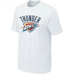Oklahoma City Thunder Big & Tall Blanc T-Shirts d'équipe de NBA Vente - pour Homme