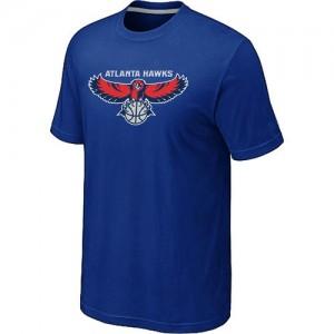 Atlanta Hawks Big & Tall T-Shirts d'équipe de NBA - Bleu pour Homme