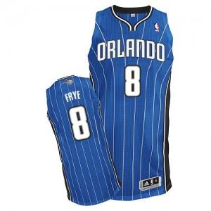 Orlando Magic #8 Adidas Road Bleu royal Authentic Maillot d'équipe de NBA Prix d'usine - Channing Frye pour Homme