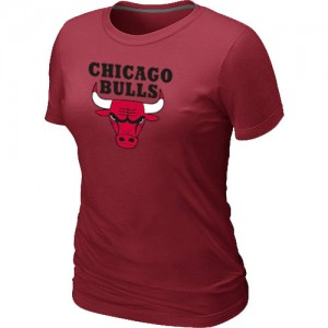 T-Shirts NBA Chicago Bulls Big & Tall Rouge - Femme