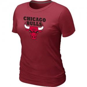 T-Shirts NBA Chicago Bulls Big & Tall Rouge - Femme