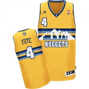 Maillot Adidas Or Alternate Swingman Denver Nuggets - Randy Foye #4 - Homme