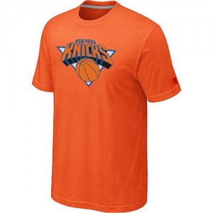 T-Shirts NBA New York Knicks Orange Big & Tall - Homme