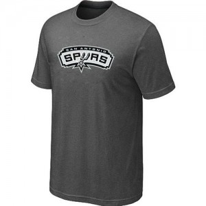 T-Shirts NBA San Antonio Spurs Big & Tall Gris foncé - Homme