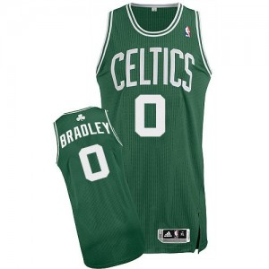 Maillot NBA Authentic Avery Bradley #0 Boston Celtics Road Vert (No Blanc) - Homme