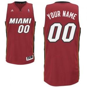 Maillot Miami Heat NBA Alternate Rouge - Personnalisé Swingman - Enfants
