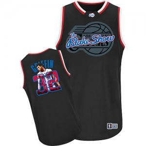 Maillot NBA Authentic Blake Griffin #32 Los Angeles Clippers Notorious Noir - Homme