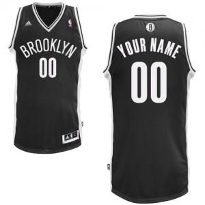 Brooklyn Nets Personnalisé Adidas Road Noir Maillot d'équipe de NBA pour pas cher - Swingman pour Homme