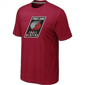 T-Shirts Rouge Big & Tall Portland Trail Blazers - Homme