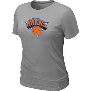 T-Shirts NBA Gris New York Knicks Big & Tall Femme