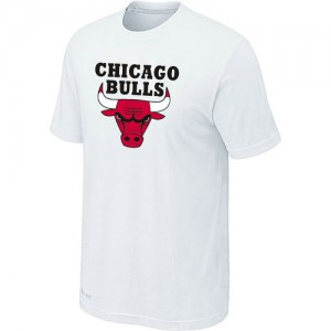 T-Shirts Blanc Big & Tall Chicago Bulls - Homme