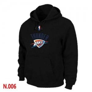 Oklahoma City Thunder Noir Sweat à capuche d'équipe de NBA Prix d'usine - pour Homme