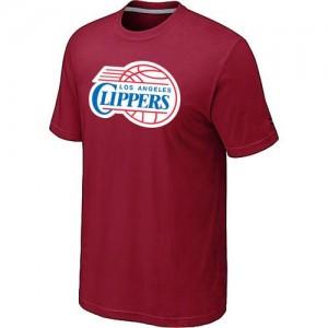 T-shirt principal de logo Los Angeles Clippers NBA Big & Tall Rouge - Homme