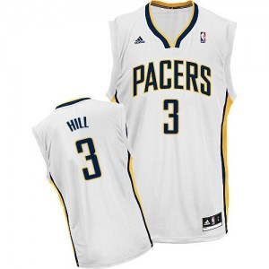 Maillot NBA Swingman George Hill #3 Indiana Pacers Home Blanc - Homme