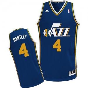Maillot Swingman Utah Jazz NBA Road Bleu marin - #4 Adrian Dantley - Homme