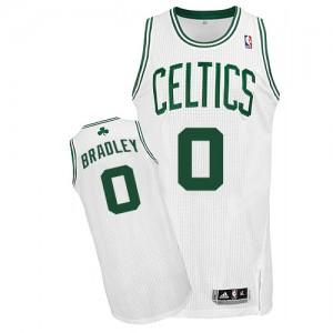 Maillot NBA Authentic Avery Bradley #0 Boston Celtics Home Blanc - Homme