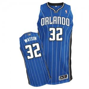 Maillot Authentic Orlando Magic NBA Road Bleu royal - #32 C.J. Watson - Homme