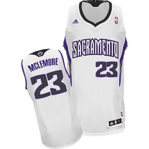 Sacramento Kings #23 Adidas Home Blanc Swingman Maillot d'équipe de NBA en ligne pas chers - Ben McLemore pour Homme
