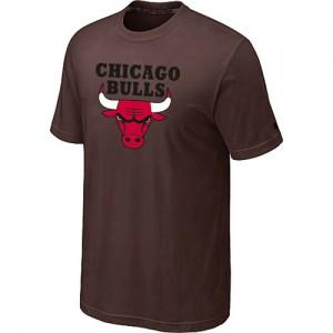 Chicago Bulls Big & Tall marron T-Shirts d'équipe de NBA Vente - pour Homme