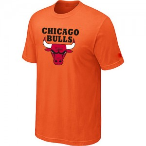 T-Shirts Orange Big & Tall Chicago Bulls - Homme