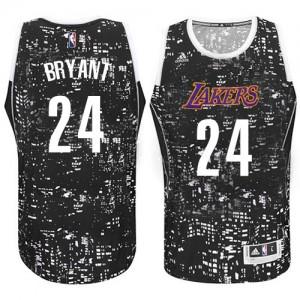 Los Angeles Lakers #24 Adidas City Light Noir Authentic Maillot d'équipe de NBA Discount - Kobe Bryant pour Homme