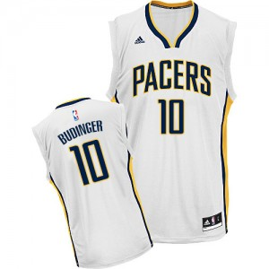 Maillot NBA Swingman Chase Budinger #10 Indiana Pacers Home Blanc - Homme