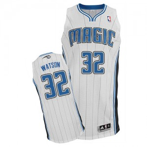 Maillot Adidas Blanc Home Authentic Orlando Magic - C.J. Watson #32 - Homme