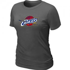 T-Shirts NBA Cleveland Cavaliers Gris foncé Big & Tall - Femme
