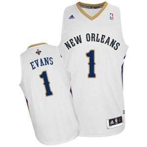 Maillot Swingman New Orleans Pelicans NBA Home Blanc - #1 Tyreke Evans - Homme