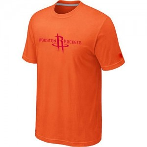 T-shirt principal de logo Houston Rockets NBA Big & Tall Orange - Homme