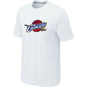 T-Shirts NBA Cleveland Cavaliers Big & Tall Blanc - Homme