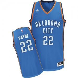 Maillot NBA Oklahoma City Thunder #22 Cameron Payne Bleu royal Adidas Swingman Road - Homme