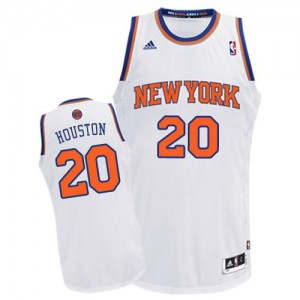 Maillot NBA Swingman Allan Houston #20 New York Knicks Home Blanc - Homme