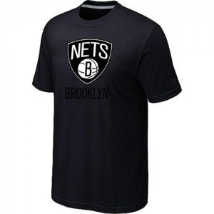 T-Shirts NBA Brooklyn Nets Big & Tall Noir - Homme