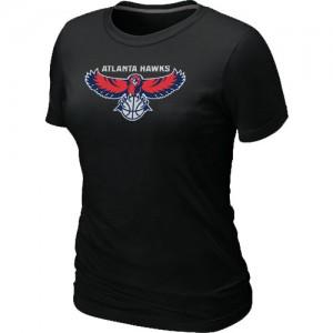 Atlanta Hawks Big & Tall T-Shirts d'équipe de NBA - Noir pour Femme