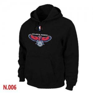 Sweat à capuche NBA Atlanta Hawks Noir - Homme