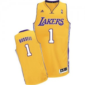 Maillot Adidas Or Home Swingman Los Angeles Lakers - D'Angelo Russell #1 - Homme